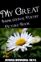 Cover for 'My Great Inspirational Poetry Picture Book'