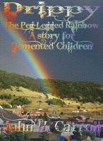 Drippy the Peg Legged Rainbow, A Story for Demented Children cover