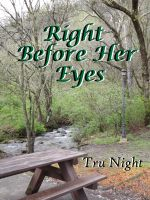 Cover for 'Right Before Her Eyes'