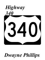 Cover for 'Highway 340'