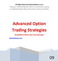 Cover for 'Understanding Advanced Option Strategies - A Simplified Guide to Trading Stock Options'