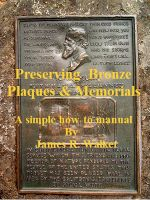 Cover for 'Preserving Bronze Plaques & Memorial'