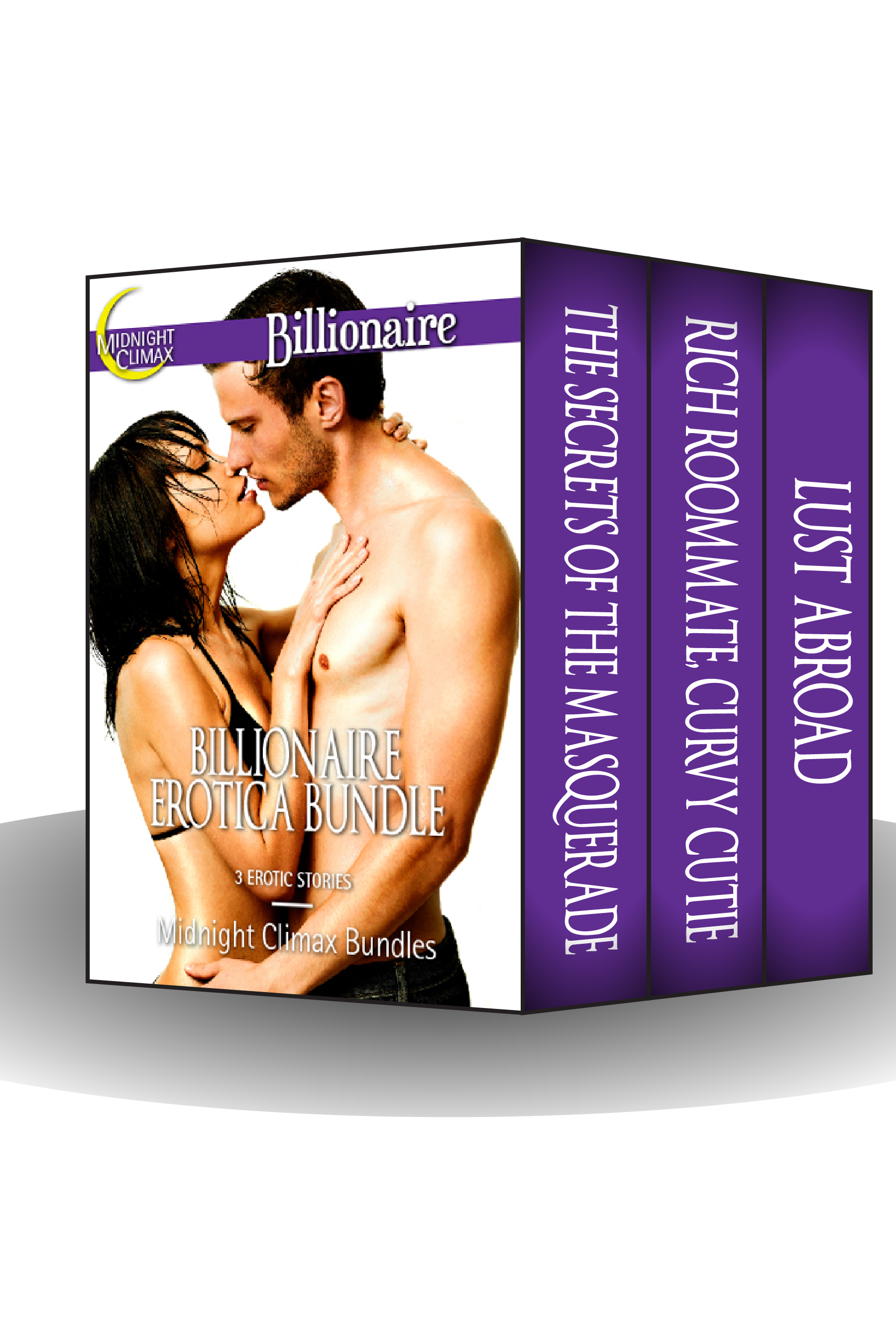 Midnight Climax Bundles - Billionaire Erotica Bundle (3 Erotic Stories of Love and Lust)