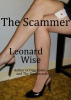 Cover for 'The Scammer'