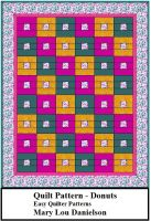 Cover for 'Donuts - Quilt Pattern'