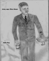 Cover for 'Army was Olive Green'