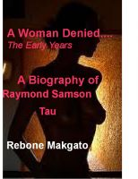 Cover for 'A Woman Denied... The Early Years'