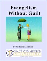 Cover for 'Evangelism Without Guilt'
