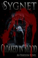 Cover for 'Cloaked in Blood'