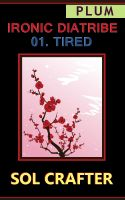 Cover for 'Ironic Diatribe: Tired'