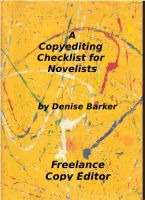 Cover for 'A Copyediting Checklist for Novelists'