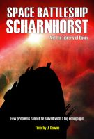 Cover for 'Space Battleship Scharnhorst and the Library of Doom'