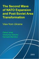 Cover for 'The Second Wave of NATO Expansion and Post-Soviet Area Transformation: View from Ukraine'