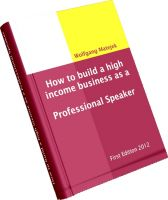 Cover for 'How to build a high income business as a Professional Speaker'
