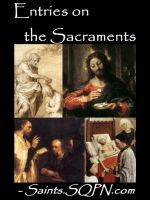 Cover for 'Entries on Sacraments'