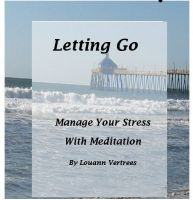 Cover for 'Letting Go - Manage Your Stress With Meditation'