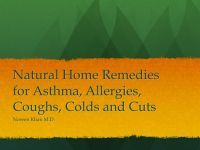 Cover for 'Natural First Aid for Asthma, Allergies, Colds, Coughs, and Cuts'