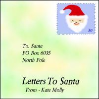 Cover for 'Letters To Santa'