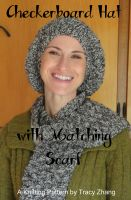 Cover for 'Checkerboard Hat with Matching Scarf'
