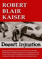 Cover for 'Desert Injustice'