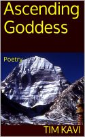 Cover for 'Ascending Goddess'