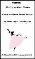 SilverTonalities Sheet Music Services - March Nutcracker Suite Easiest Piano Sheet Music