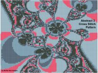 Cover for 'Abstract 3 Cross Stitch Pattern'