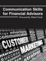 Cover for 'Communication skills for financial advisors'