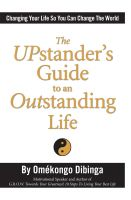 Cover for 'The UPstander's Guide to an Outstanding Life'
