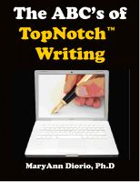 Cover for 'The ABCs of TopNotch Writing'