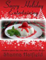 Cover for 'Savvy Holiday Entertaining'