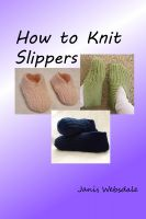 Cover for 'How to Knit Slippers'