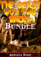 Cover for 'The Beast with Two Backs (Werewolf Erotica Bundle)'