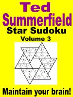 Cover for 'Star Sudoku Puzzles. Volume 3.'