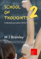 Cover for 'School of Thoughts 2: Collected journalism 2012/13'