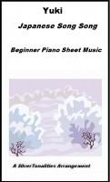 SilverTonalities Sheet Music Services - Yuki Beginner Piano Sheet Music