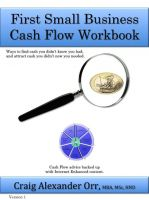 Cover for 'First Small Business Cash Flow Workbook'