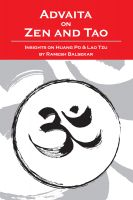 Cover for 'Advaita On Zen And Tao'