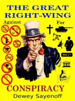 Cover for 'The Great Right-wing Conspiracy'