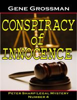 Cover for 'Conspiracy of Innocence - Peter Sharp Legal Mystery #4'