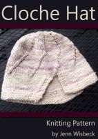 Cover for 'Cloche Hat Knitting Pattern'