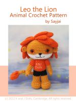 Cover for 'Leo the Lion Animal Crochet Pattern'