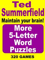 Cover for 'More 5-Letter Word Puzzles'