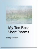 Cover for 'My Ten Best Short Poems'