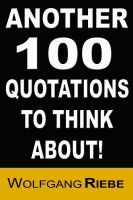 Cover for 'Another 100 Quotations to Think About'