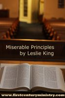Cover for 'Miserable Principles'