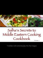 Cover for 'Salha's Secrets to Middle Eastern Cooking Cookbook'