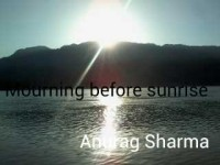 Mourning before sunrsie