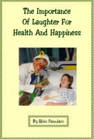 Cover for 'The Importance Of Laughter For Health And Happiness'