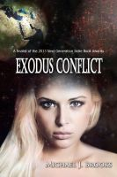 Cover for 'Exodus Conflict'